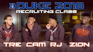 Download EXCLUSIVE interview with Duke's 2018 top recruiting class Video