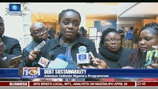 Download Adeosun Defends Nigeria's Programmes On Debt Sustainability Pt.3  News@10  20/04/18 Video