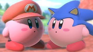 Download All Kirby Hats and Powers in Super Smash Bros Ultimate (Gourmet Race) Video