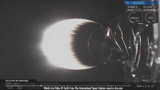 Download SpaceX Telstar 18V - Launch, Landing and Satellite Separation Video