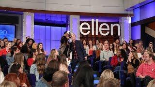 Download Ellen Finds Real People in Her Audience Video