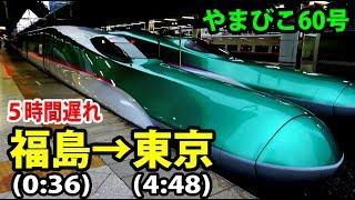 Download 【東北新幹線大遅延】夜行列車と化したやまびこ60号乗車記【1806秋田13】 Video