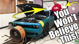 Download My Hellcats First Time On The Dyno & You're Not Gonna Believe This!! Video