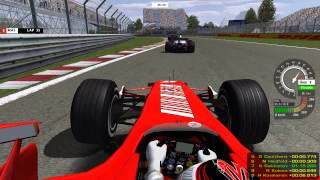 Download rFactor - F1 2007 - 100% Race - Montreal Video