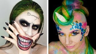 Download Halloween Makeup Tutorial Horror Compilation By Cake, DIY, Makeup, Hairstyles, Nail Art - Topic Video