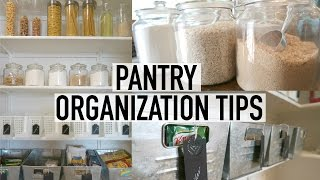 Download PANTRY ORGANIZATION + TOUR | 10 TIPS FOR AN ORGANIZED PANTRY | ORGANIZE WITH ME Video