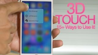 Download Top 3D Touch tips for iPhone 6s Video