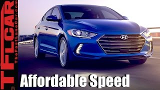 Download 2017 Hyundai Elantra Sport First Drive Review: Affordable Speed! Video