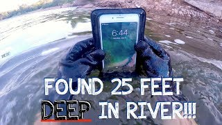 Download River Treasure: I Found a Working iPhone 7 PLUS, GoPro, Keys, Money (iPhone Returned to Owner!!!) Video