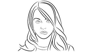 Download Line Portrait tutorial using Inkscape Video