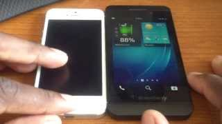 Download 5 things the Blackberry Z10 does better than the iPhone 5! Video