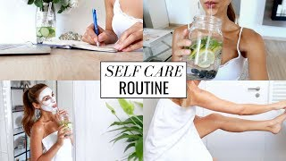 Download MY SELFCARE SUNDAY ROUTINE | Skin, Body, Mind | Annie Jaffrey | Ad Video