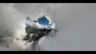 Download Gopro Fusion - Cloud Cave Wingsuit Flight Video