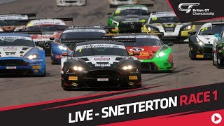 Download RACE 1 - BRITISH GT - SNETTERTON - LIVE Video