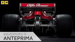 Download F1 2018, Alfa Romeo Sauber: ecco la C37 Video