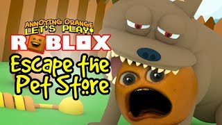 Download Roblox: ESCAPE THE PET STORE OBBY! [Annoying Orange Plays] Video