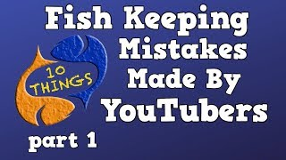 Download The Biggest Fish Keeping Mistakes Made By YouTubers! Part 1! Special 10 Things Episode! Video