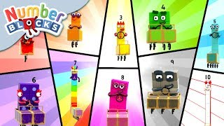 Download Numberblocks - NEW EPISODE! | Numberblock Rally | Learn to Count Video