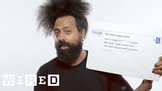Download Reggie Watts Answers the Web's Most Searched Questions   WIRED Video