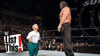 Download 5 Biggest mismatches in WWE history: WWE List This! Video