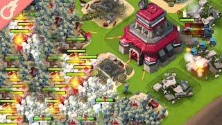 Download 208 Mass Riflemen Spam vs Imitation Game! Boom Beach Hammerman Takedown! Video