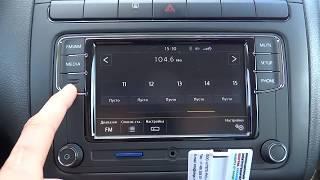 Download подробно функции RCD330+ Desay и как работает камера заднего вида / VW polo sedan Video