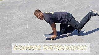 Download 10 Types of Beginner Skateboarders Video