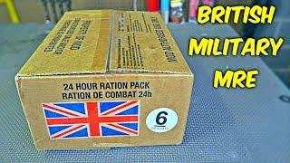 Download Testing British Military MRE (24Hr Combat Food Ration) Video