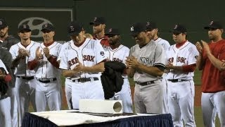 Download Red Sox honor Mo with pregame ceremony Video