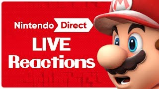 Download Nintendo Direct LIVE REACTION (and a bingo yay) Video