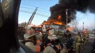 Download 4th Alarm Commercial Building Fire - Wyandotte Road - Upper Moreland 3/2/15 Video