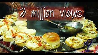 Download Angry burger, Bun Kabab Street Food Of Karachi, Pakistan Video