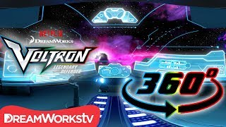Download Explore Voltron's Blue Lion Cockpit! [360 VIDEO] | DREAMWORKS VOLTRON LEGENDARY DEFENDER Video
