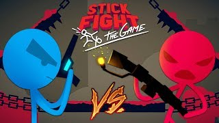 Download STICK FIGHTER GAME!! STICK FIGHT BOYFRIEND vs GIRLFRIEND! (Stick Fight: The Game) Video