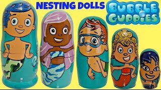 Download *NEW* BUBBLE GUPPIES Nesting Dolls Toy Surprises | Toys Unlimited Video