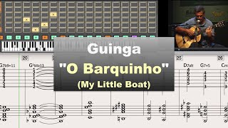 Download ″O Barquinho″ (My Little Boat) by Guinga - Virtual Guitar Transcription by Gilles Rea Video