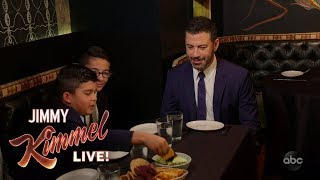 Download Jimmy Kimmel and His Nephews Eat Insects at The Black Ant in NYC Video