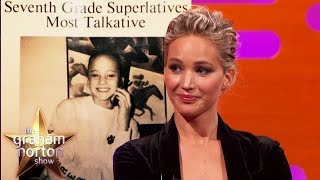 Download Jennifer Lawrence Won 'Most Talkative' In High School - The Graham Norton Show Video