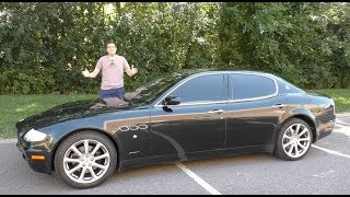Download A Used Maserati Quattroporte is the Best Way to Look Rich for $20,000 Video