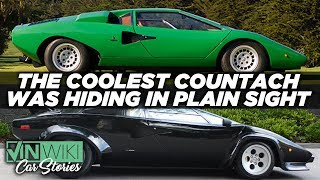 Download Chasing the coolest Lamborghini Countach on Earth Video