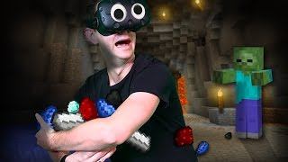 Download Minecraft Mixed Reality | WE NEED MATERIALS! (HTC Vive Virtual Reality) [Ep 7] Video
