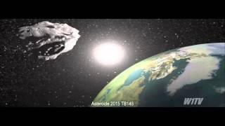Download NASA libera imagens do asteroide 2015 TB145 se aproximando da Terra Video