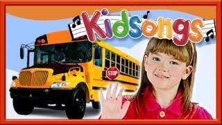 Download Kidsongs | The Wheels On The Bus | The Bus Song | Top Nursery Rhymes | Kids Play Songs |PBS Kids Video