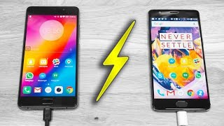 Download OnePlus 3T Dash Charge vs Lenovo P2 Rapid Charge - What's Faster? Video