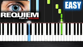 Download Requiem for a Dream - EASY Piano Tutorial by PlutaX - Synthesia Video