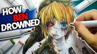 Download The True Story of Ben Drowned | Creepypasta + Drawing Video