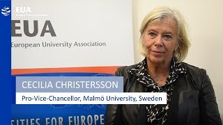 Download EUA Learning & Teaching Initiative - Cecilia Christersson, Malmö University, Sweden Video