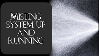 Download Misting system installed and running Video
