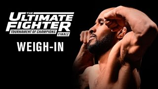 Download The Ultimate Fighter A Tournament of Champions Finale: Official Weigh-in Video