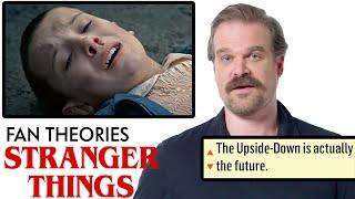 Download David Harbour Breaks Down Stranger Things Fan Theories from Reddit | Vanity Fair Video